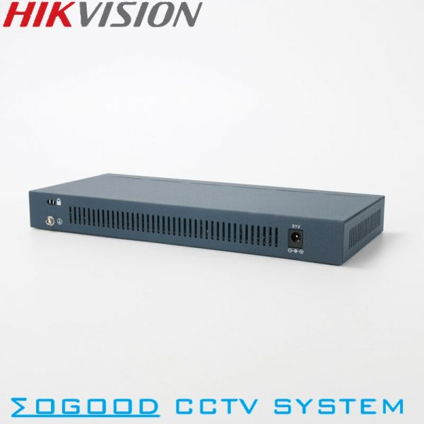 Hikvision Original DS 3E0109P E Unmanaged 8 Pports PoE Switch 10 100 Mbps and 1 Up
