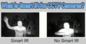 CCTV cameras smart IR