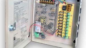 9CH DC12V 5A CCTV Camera Power Box Adapter Switching Power supply Box Distribution 9 channels Input.jpg q50