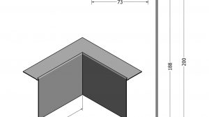 IKOtrim F20085 Internal Corner