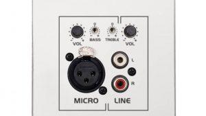 mixer incastrabil wpamix t ecler 237
